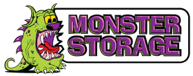 Monster Storage Logo